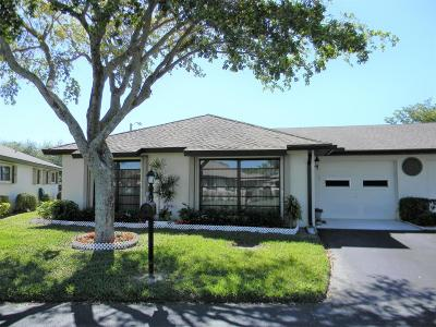 Boynton Beach Single Family Home For Sale: 4836 Dovewood Circle #A