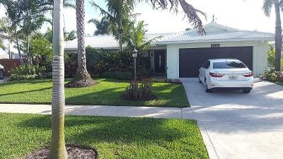 North Palm Beach Single Family Home For Sale: 1794 Juno Isles Boulevard