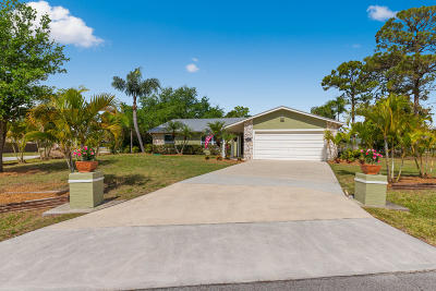 Port Saint Lucie Single Family Home For Sale: 2432 SW Loquat Road