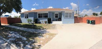 Lake Worth Single Family Home For Sale: 1301 D Street