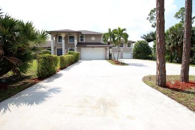 West Palm Beach Single Family Home For Sale: 12148 69th Street