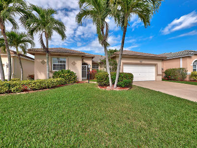 Lake Worth Single Family Home For Sale: 3767 Spring Crest Court
