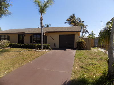 Boynton Beach FL Single Family Home For Sale: $330,000
