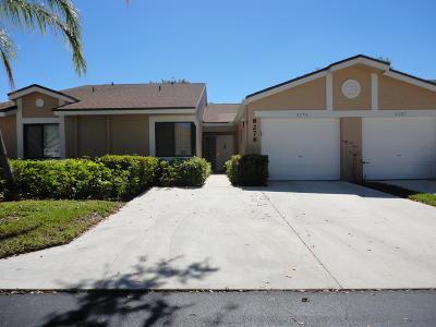 Broward County, Palm Beach County Single Family Home For Sale: 8278 Springlake Drive #E