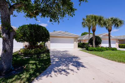 Port Saint Lucie Single Family Home For Sale: 1287 NW Bentley Circle NW #B