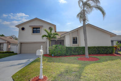 Boca Raton Single Family Home For Sale: 21734 Rainberry Park Circle