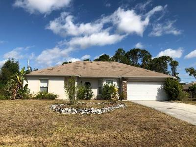Port Saint Lucie Single Family Home For Sale: 1351 SW Tadlock Avenue