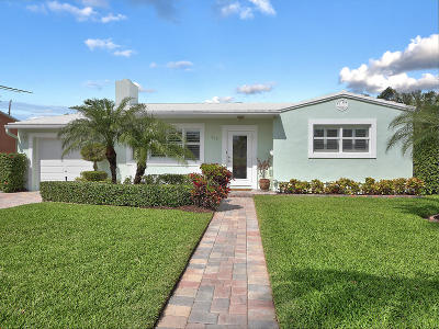 West Palm Beach Single Family Home For Sale: 339 Leigh Road