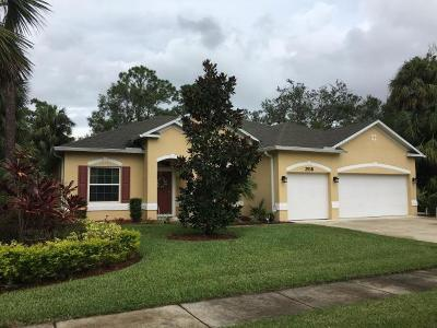 Fort Pierce Single Family Home For Sale: 2518 Madewood Drive