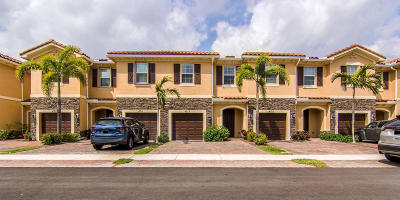 West Palm Beach Townhouse For Sale: 4313 Brewster Lane
