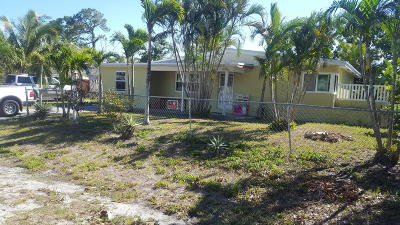 Lake Worth Single Family Home For Sale: 3574 Patio Court