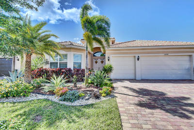 Boynton Beach FL Single Family Home For Sale: $750,000