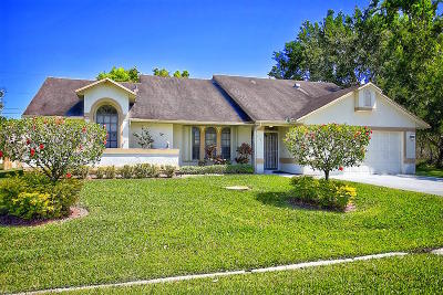 Port Saint Lucie Single Family Home For Sale: 2525 SE West Blackwell Drive