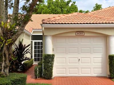 Delray Beach Single Family Home For Sale: 6085 Heliconia Road