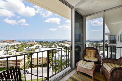 Delray Beach Condo For Sale: 86 Macfarlane Drive #10h