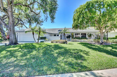 Delaire Country Club Single Family Home For Sale: 4262 Live Oak Boulevard