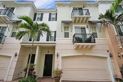 Boca Raton Townhouse For Sale: 3647 NW 5th Terrace