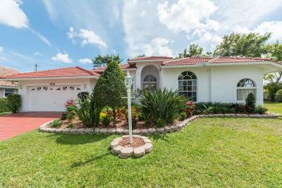 Coral Springs Single Family Home For Sale: 8336 NW 40th Court