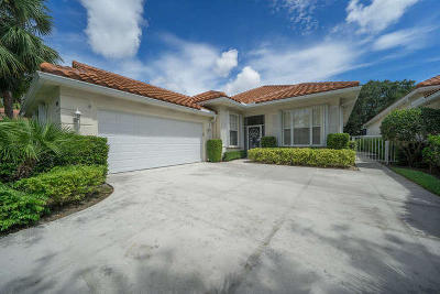Palm Beach Gardens Single Family Home For Sale: 134 Lost Bridge Drive