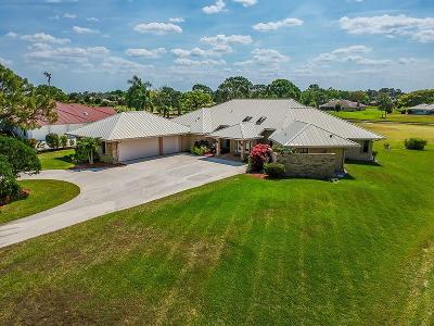 Palm City Single Family Home For Sale: 4734 SW Bermuda Way