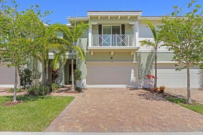 Palm Beach Gardens FL Townhouse Contingent: $463,000