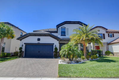 Lake Worth Single Family Home For Sale: 5800 Sandbirch Way