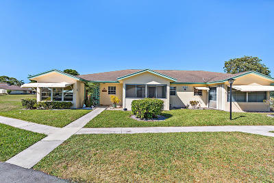 Delray Beach Single Family Home Contingent: 14245 Nesting Way #B