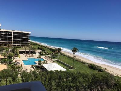 Palm Beach Condo For Sale: 3450 S Ocean Boulevard #505