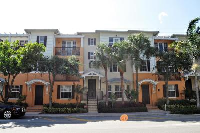 Delray Beach FL Townhouse For Sale: $625,000