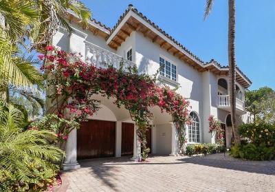Broward County, Palm Beach County Single Family Home For Sale: 1709 S Ocean Boulevard