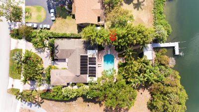 North Palm Beach Single Family Home Contingent: 598 Anchorage Drive