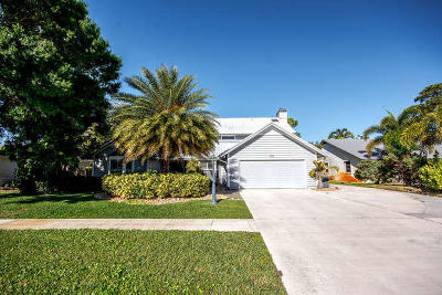 Jupiter Single Family Home For Sale: 602 Greenwood Drive