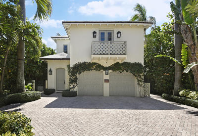 Palm Beach Single Family Home For Sale: 130 Peruvian Avenue