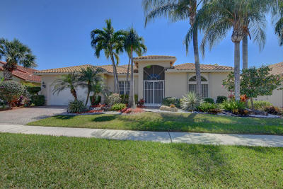 Boynton Beach Single Family Home For Sale: 5406 Landon Circle