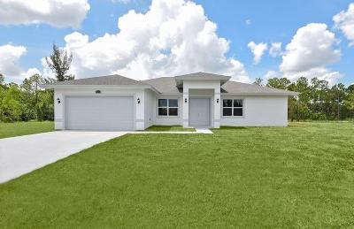 Loxahatchee Single Family Home For Sale: 16074 Murcott Boulevard