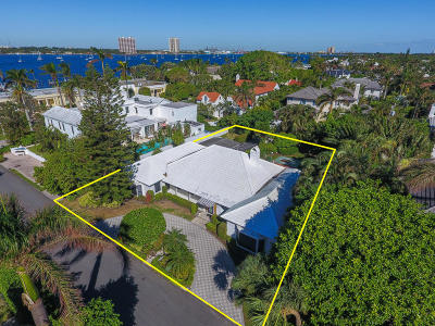 Palm Beach Single Family Home For Sale: 341 Eden Road
