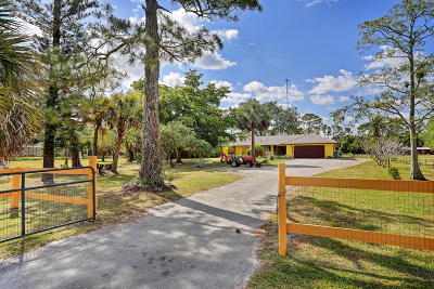 Lake Worth Single Family Home For Sale: 10540 Anderson Lane