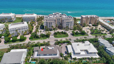 Gulf Stream, Ocean Ridge Townhouse For Sale: 4010 Ocean Blvd