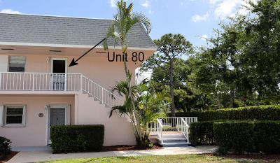 Tequesta Condo Contingent: 18081 SE Country Club Drive #80