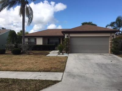 Jupiter Single Family Home Contingent: 174 Arrowhead Circle