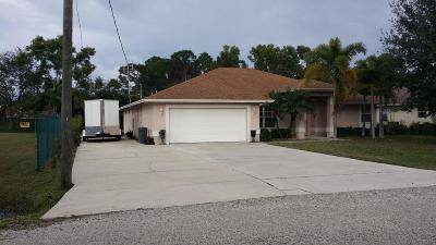 Stuart Single Family Home For Sale: 3871 SE Dixie Ross Street