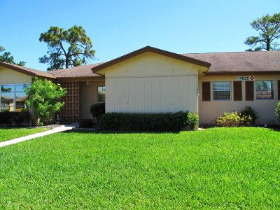 Delray Beach Single Family Home Contingent: 14628 Canalview Drive #B