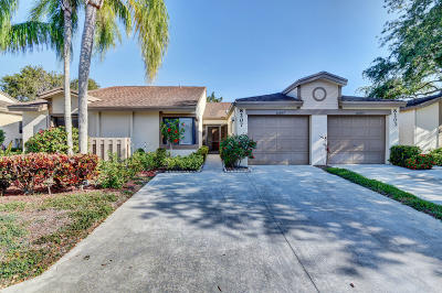 Boca Raton Single Family Home For Sale: 8207 Whispering Palm Drive #G
