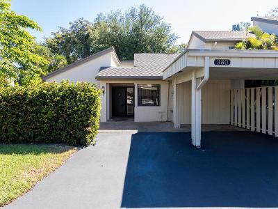Deerfield Beach Single Family Home For Sale: 380 Deer Creek Wildwood Lane E