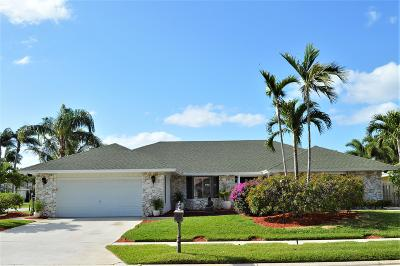Palm Beach Gardens Single Family Home For Sale: 2543 Monaco Terrace