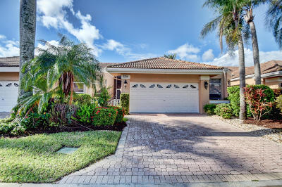 Boca Raton Single Family Home Contingent: 5234 Windsor Parke Drive