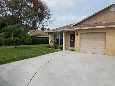 Boynton Beach Single Family Home For Sale: 10423 Boynton Place Circle