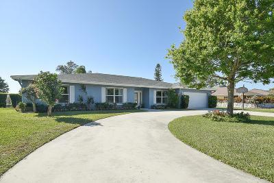 Boynton Beach Single Family Home Contingent: 9451 Calliandra Drive