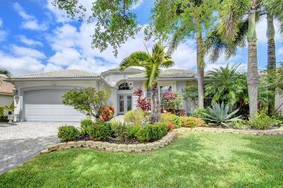 Lake Worth Single Family Home For Sale: 8898 Majorca Bay Drive