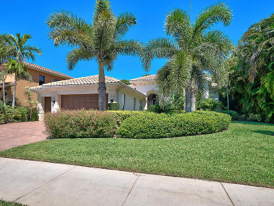 Palm Beach Gardens Single Family Home Contingent: 5125 Isabella Drive